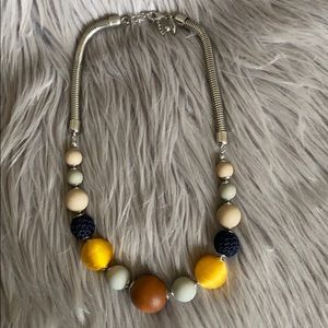 NWOT! Ann Taylor Factory Beaded Statement Necklace